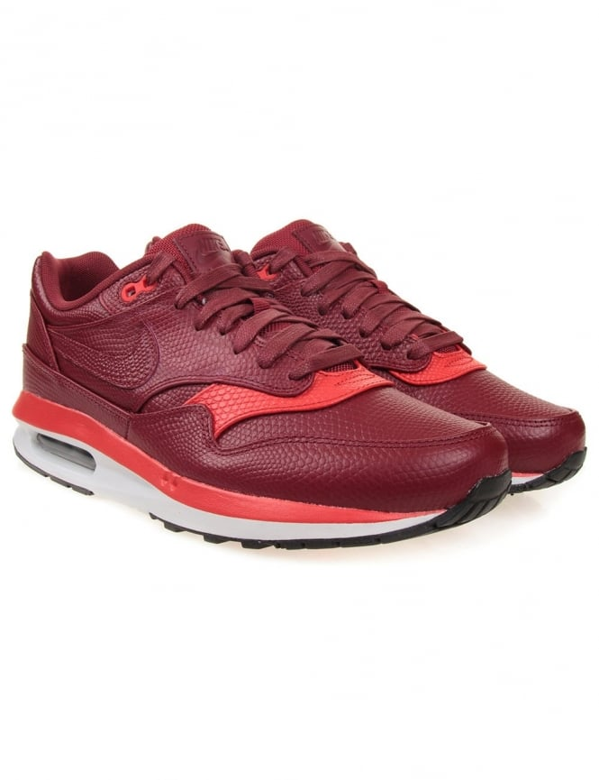 Nike Air Max 1 Lunar Deluxe - Red