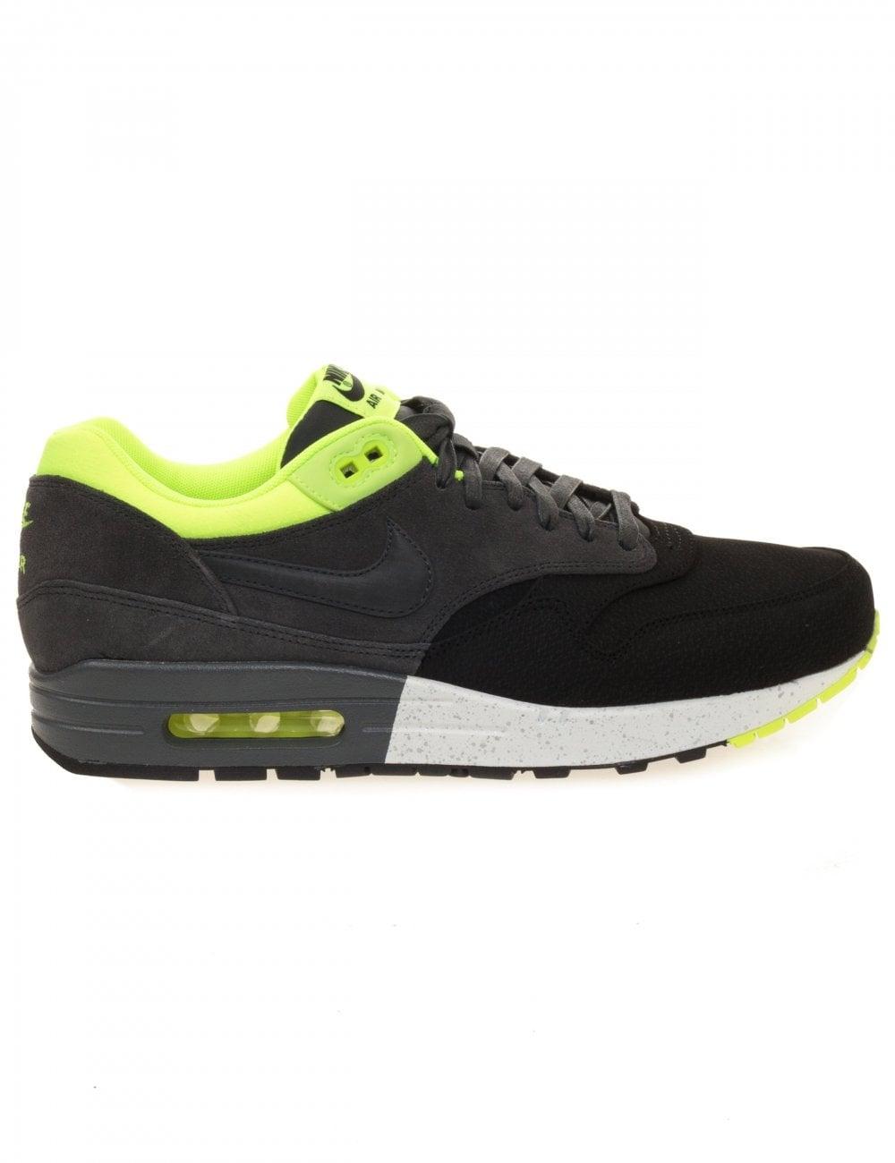 b1db7570f7cbf Nike Air Max 1 Premium - Black/Anthracite - Footwear from Fat Buddha ...