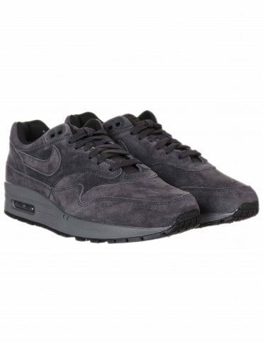 bbff5e737bf Nike Air Max 1 Trainers - Anthracite Black