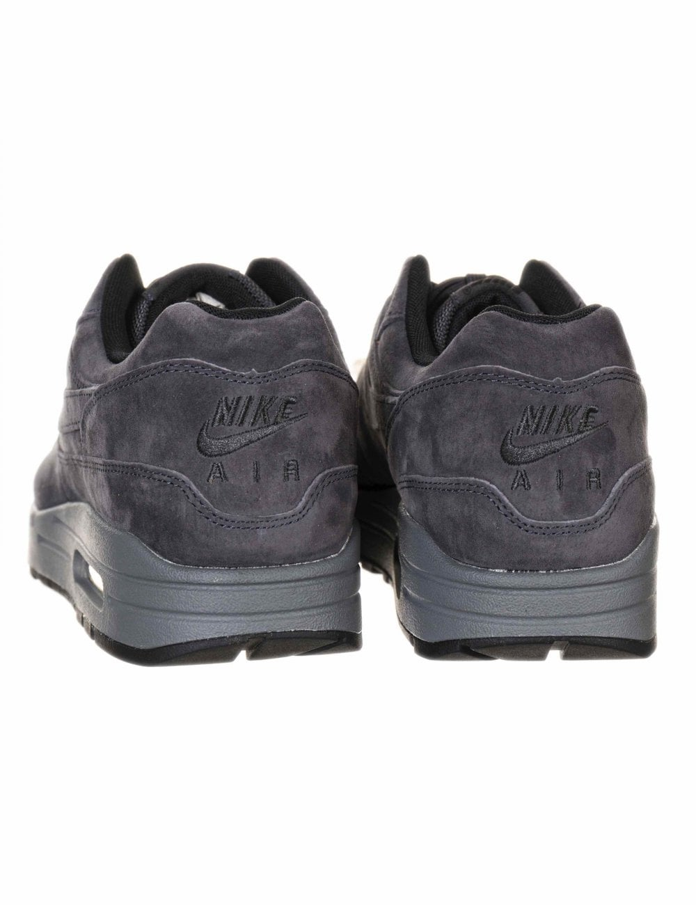 c36576f25b0d Nike Air Max 1 Trainers - Anthracite Black - Footwear from Fat ...