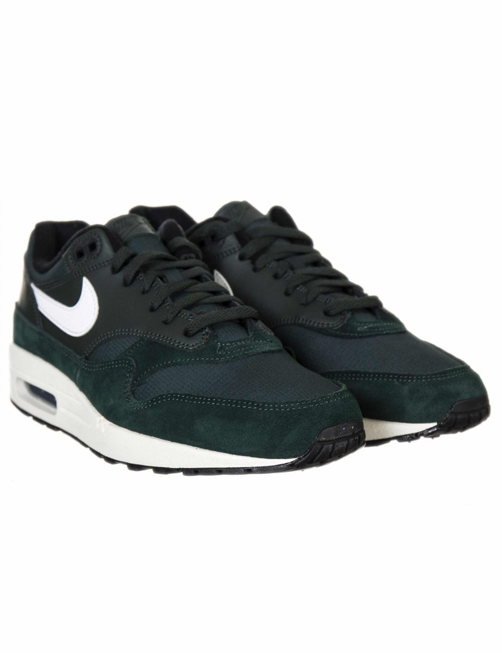 054786b4b4d18c Nike Air Max 1 Trainers - Outdoor Green Sail - Footwear from Fat ...