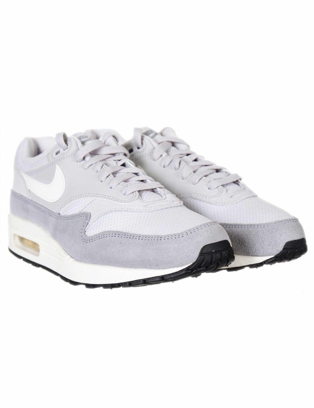 b2c39c2a14ec Nike Air Max 1 Trainers - Vast Grey Sail - Footwear from Fat Buddha ...