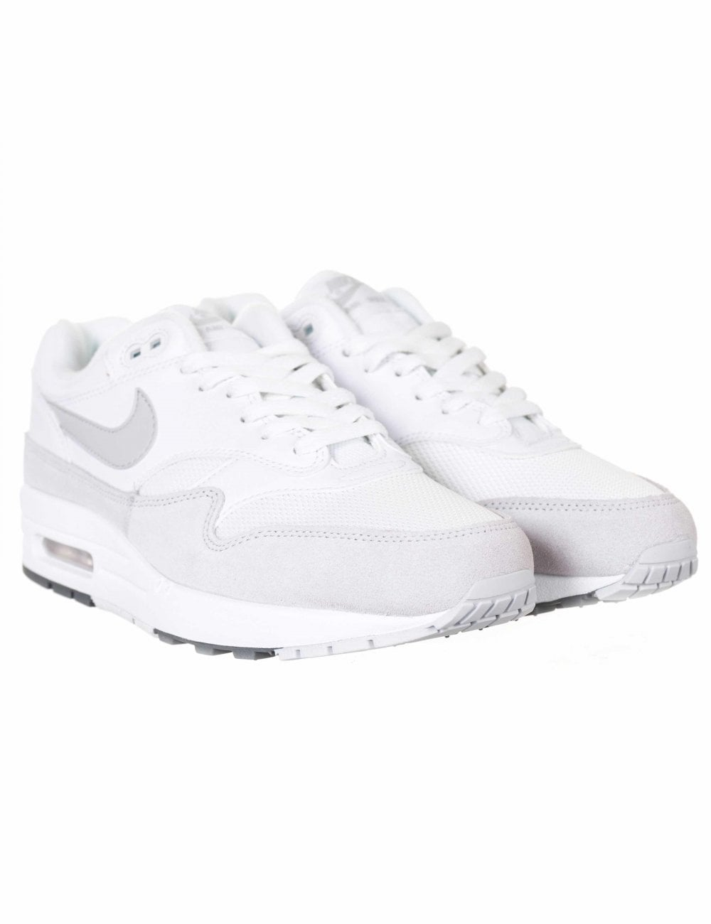 multiple colors amazing price best sell Air Max 1 Trainers - White/Pure Platinum