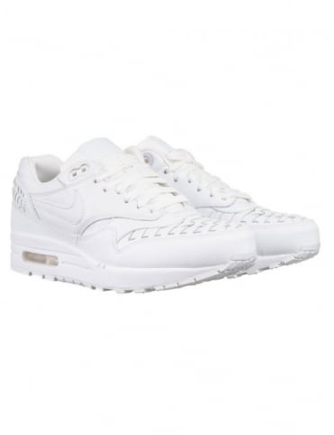 Nike Air Max 1 Woven Shoes - White