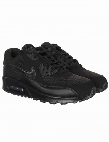 Air Max 90 Essential Shoes - Black/Black