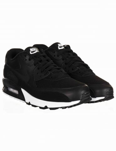 Air Max 90 Essential Shoes - Black/White