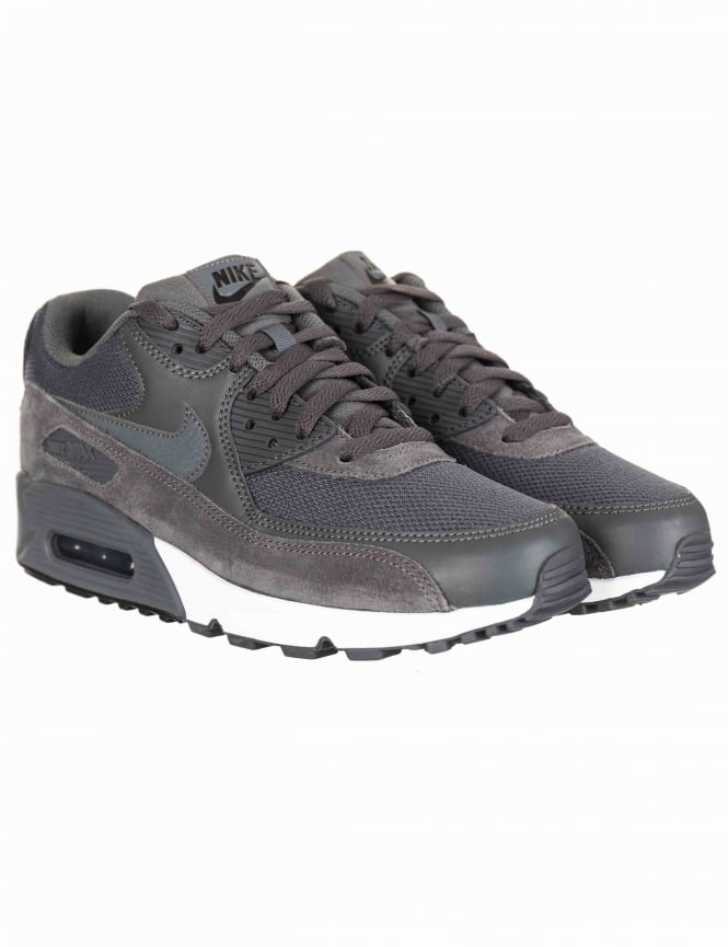 save off e4dca 60516 Air Max 90 Essential Shoes - Dark Grey/Dark Grey-Black
