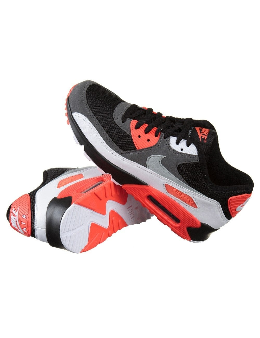 Nike Air Max 90 OG Shoes Infrared Black Footwear from