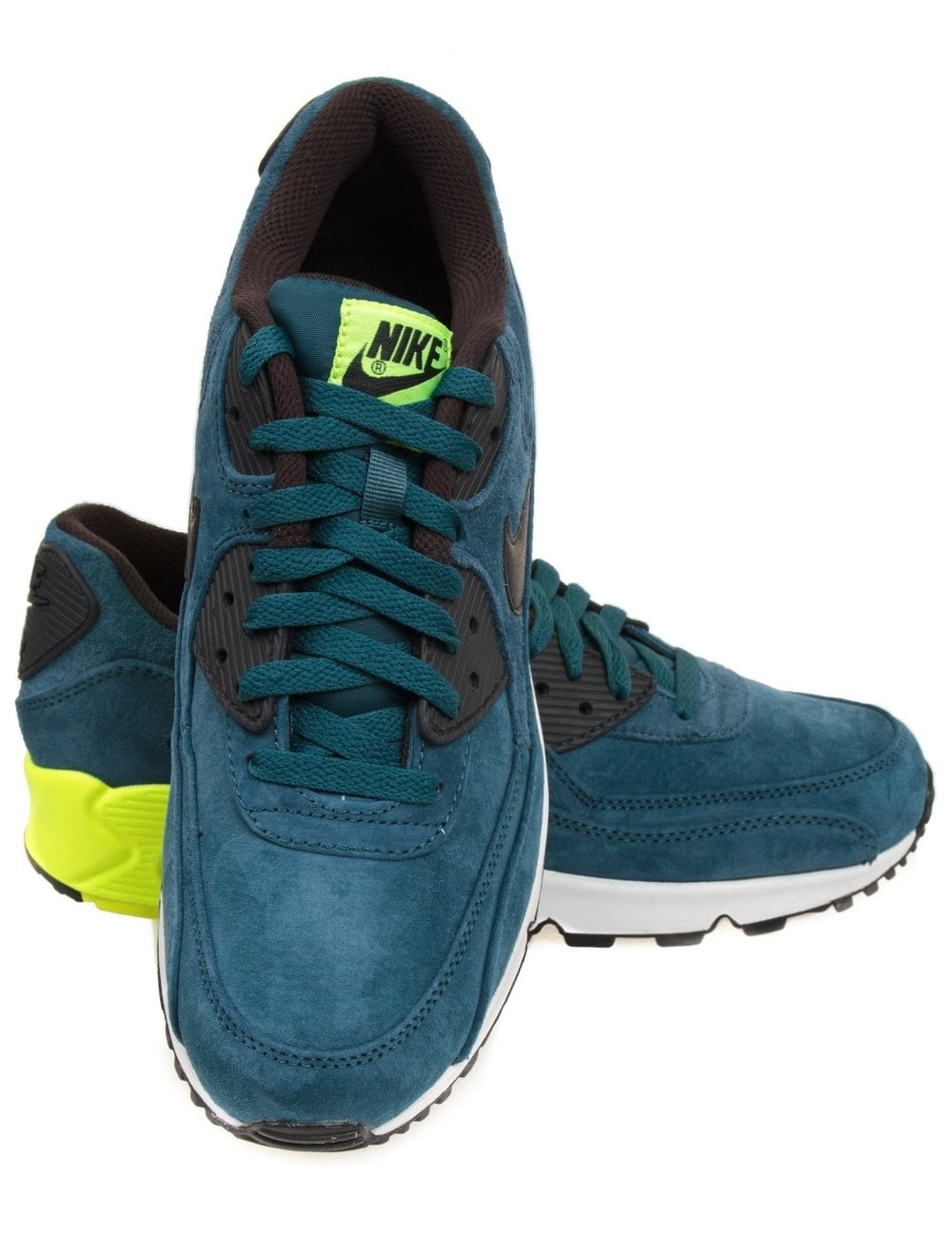 9dcd9c1e014 Nike Air Max 90 Premium - Night Factor Volt - Footwear from Fat ...