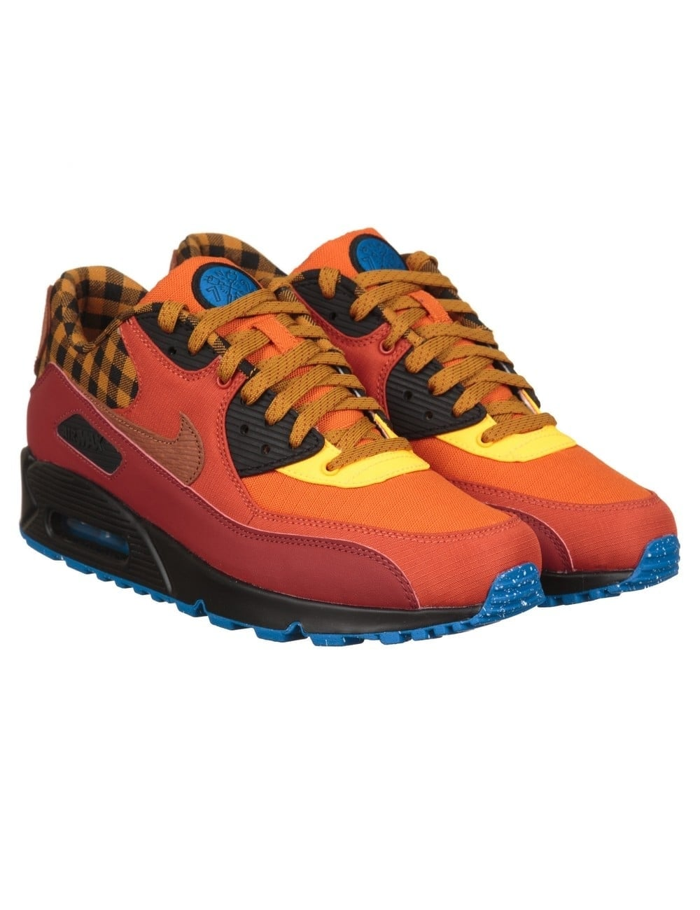 the latest 4b1ab 75bd1 Air Max 90 Premium Shoes - Dark Cayenne/Gold (Campfire Pack)