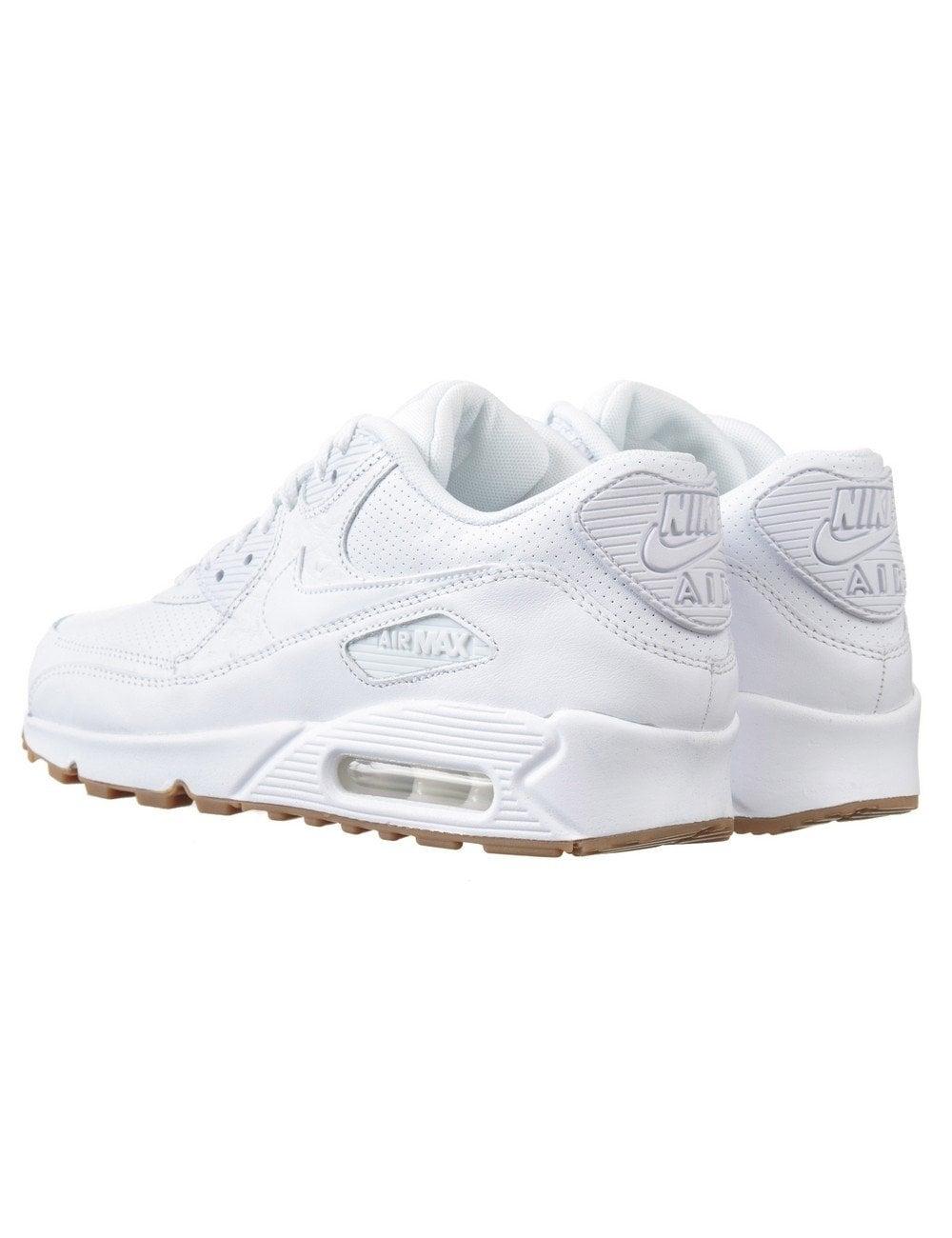 huge discount b3b1a c23f9 Air Max 90 Run PA Shoes - Triple White/Gum