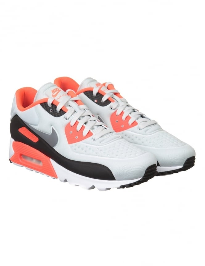Nike Air Max 90 Ultra SE Shoes - Pure Platinum/Cool Grey