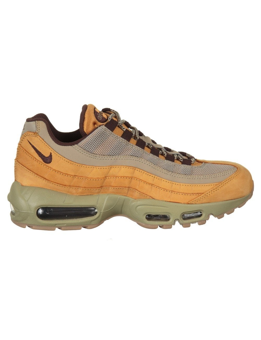 b5445196c754 Nike Air Max 95 Premium Shoes - Bronze (Bronze Pack) - Trainers from ...