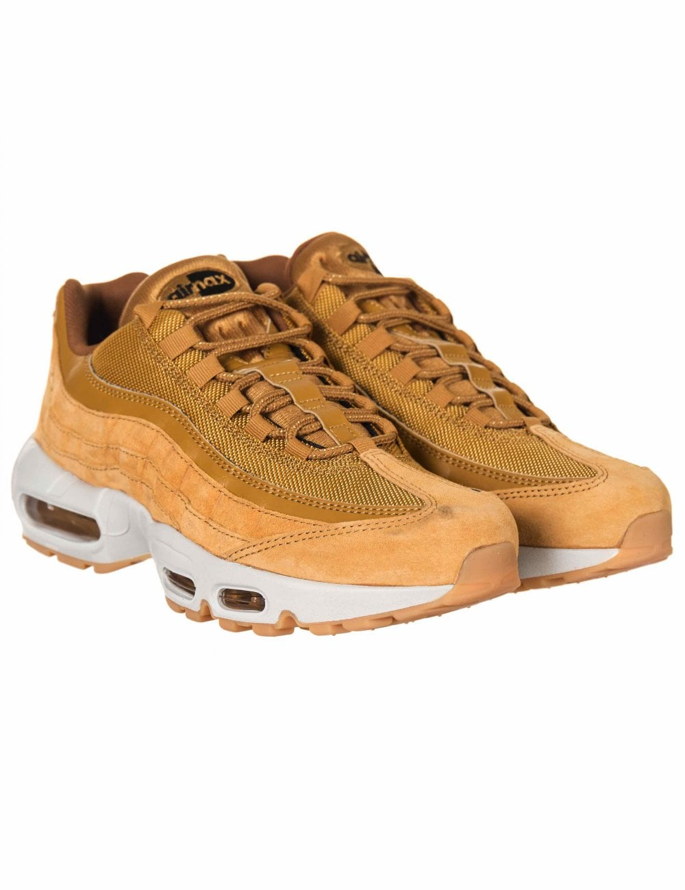 save off 56b1e 3e5f8 Nike Air Max 95 SE Trainers - Wheat Wheat