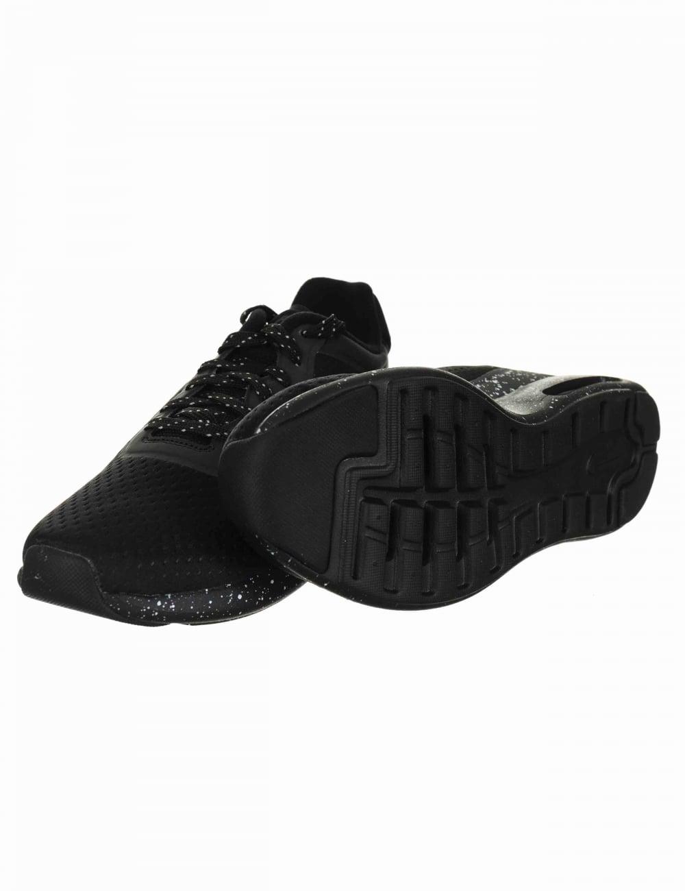 Air Max Modern SE Shoes - Black/Black-Team Orange