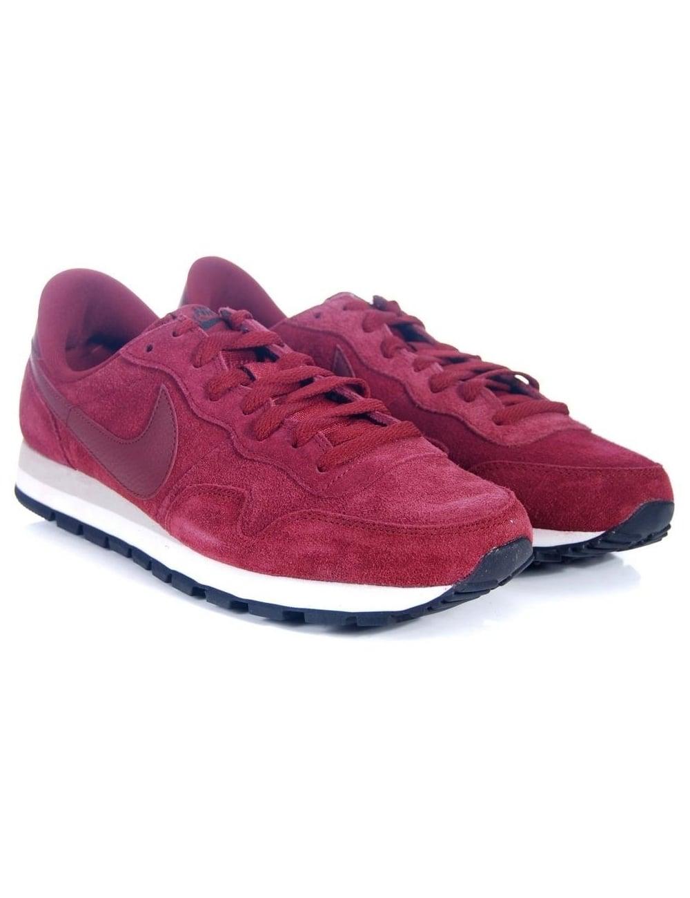b8cc44d5075c Nike Air Pegasus 83 Suede - Team Red - Footwear from Fat Buddha Store UK
