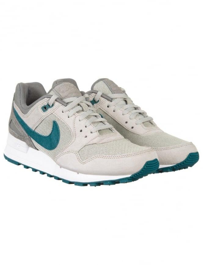 Nike Air Pegasus 89 Shoes - Lunar Grey/Teal