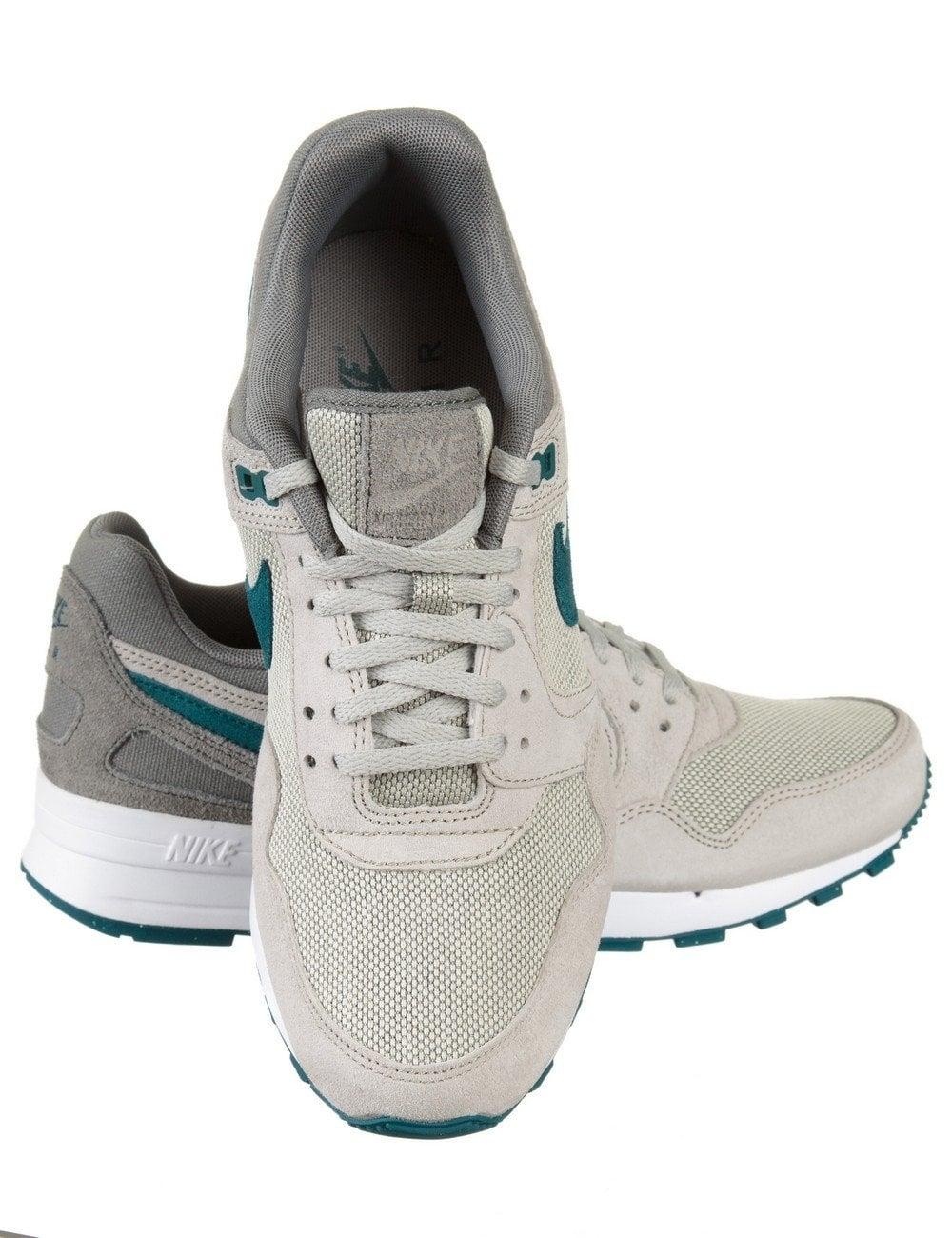 9835b04d4bb95 Nike Air Pegasus 89 Shoes - Lunar Grey Teal - Footwear from Fat ...