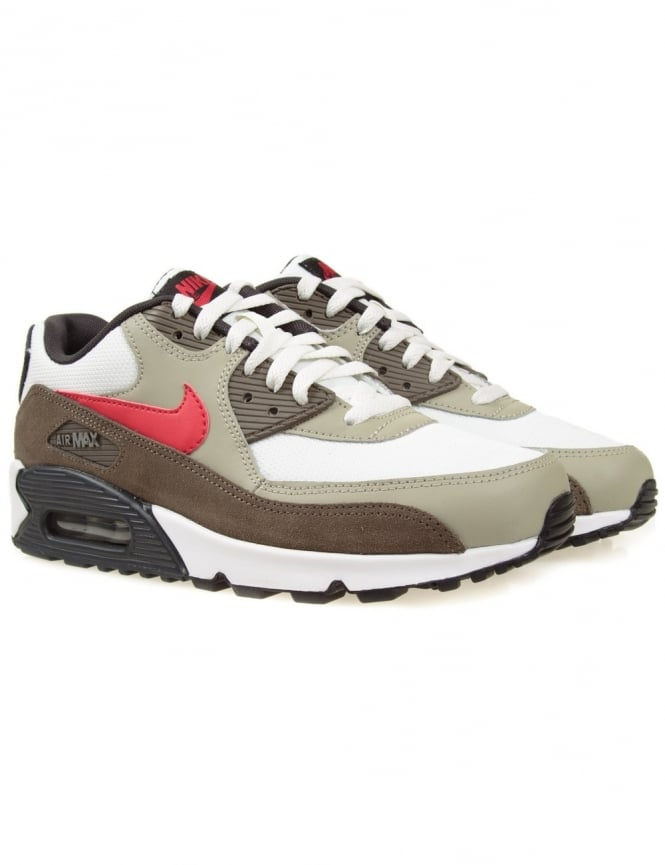 Nike Airmax 90 Essential - White/Uni Red
