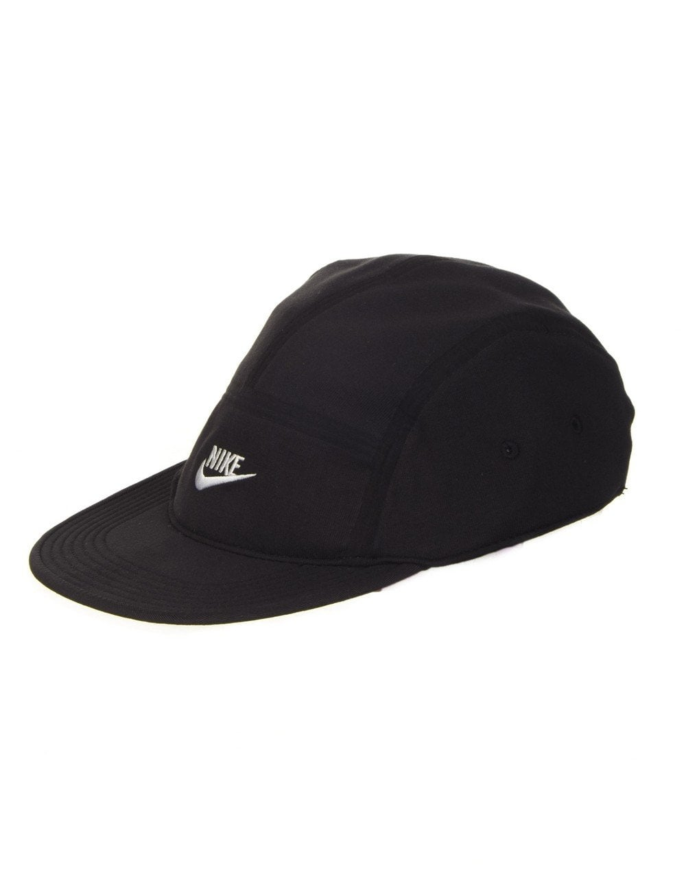 Nike AW84 Tech 5 Panel Hat - Black - Accessories from Fat Buddha ... 321eb8363e4
