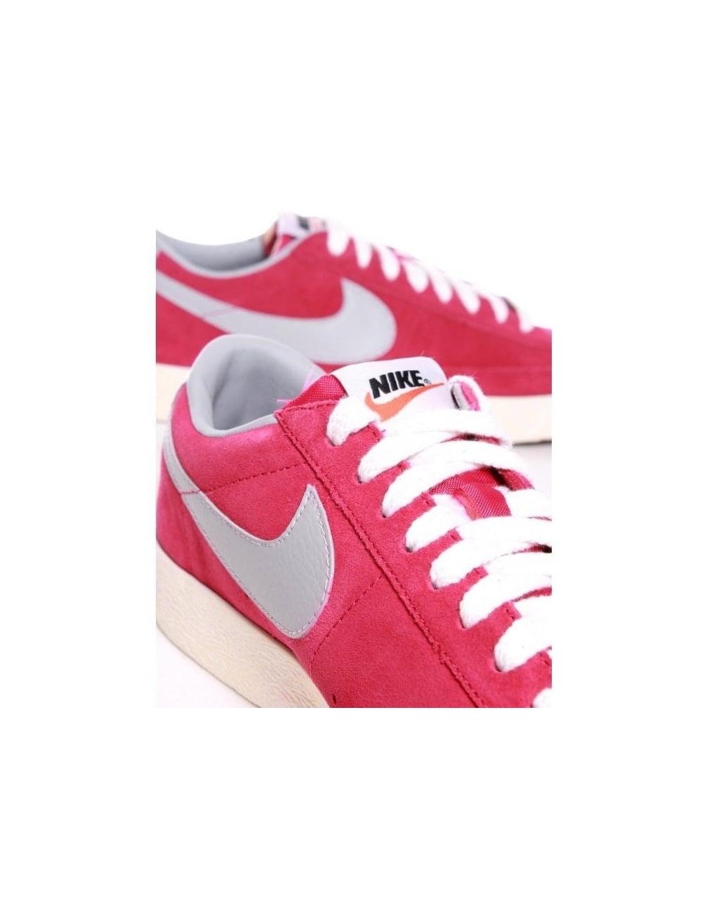 28ddc9c6f9be Nike Blazer Low PRM VNTG Suede - Sport Fuchsia (Pink) - Footwear ...
