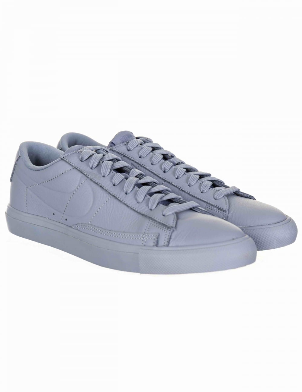 best service 2ce4e c6e62 Blazer Low Trainers - Glacier Grey