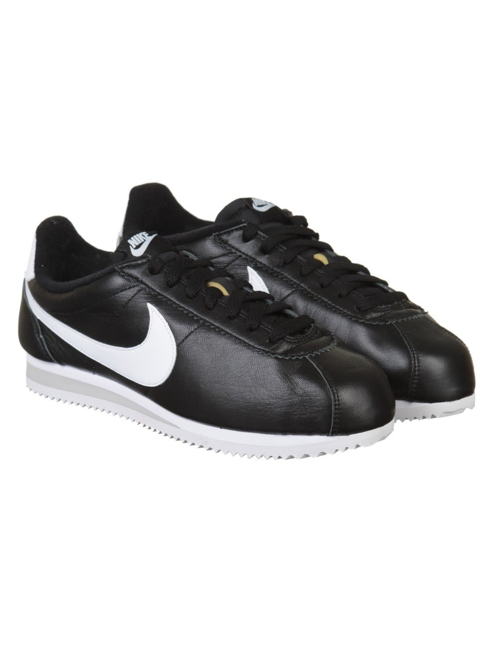 low priced 6ec4b 7a071 Classic Cortez PRM Leather Trainers - Black/White