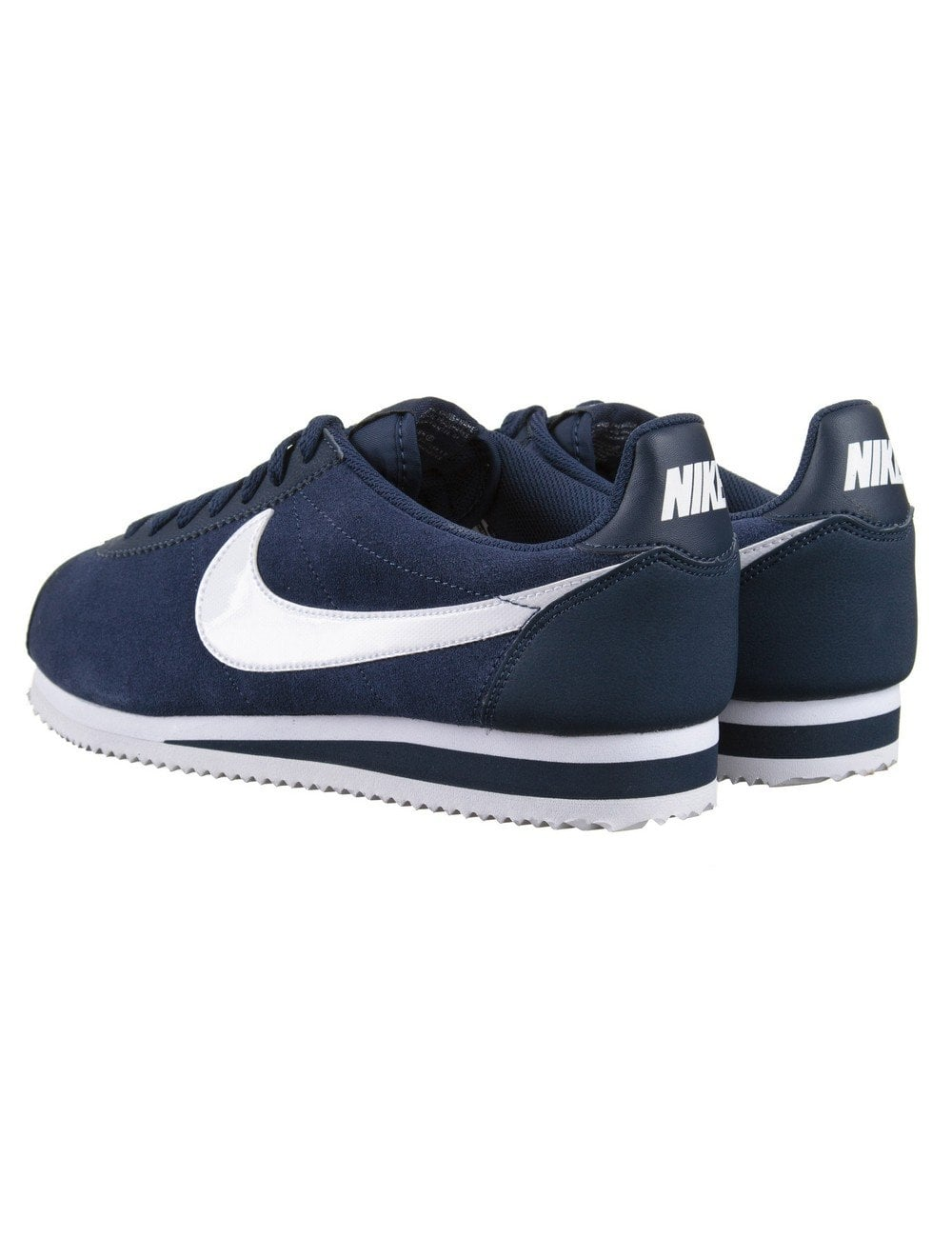 quality design eaf95 6797a Cortez Leather Shoes - Midnight Navy/White