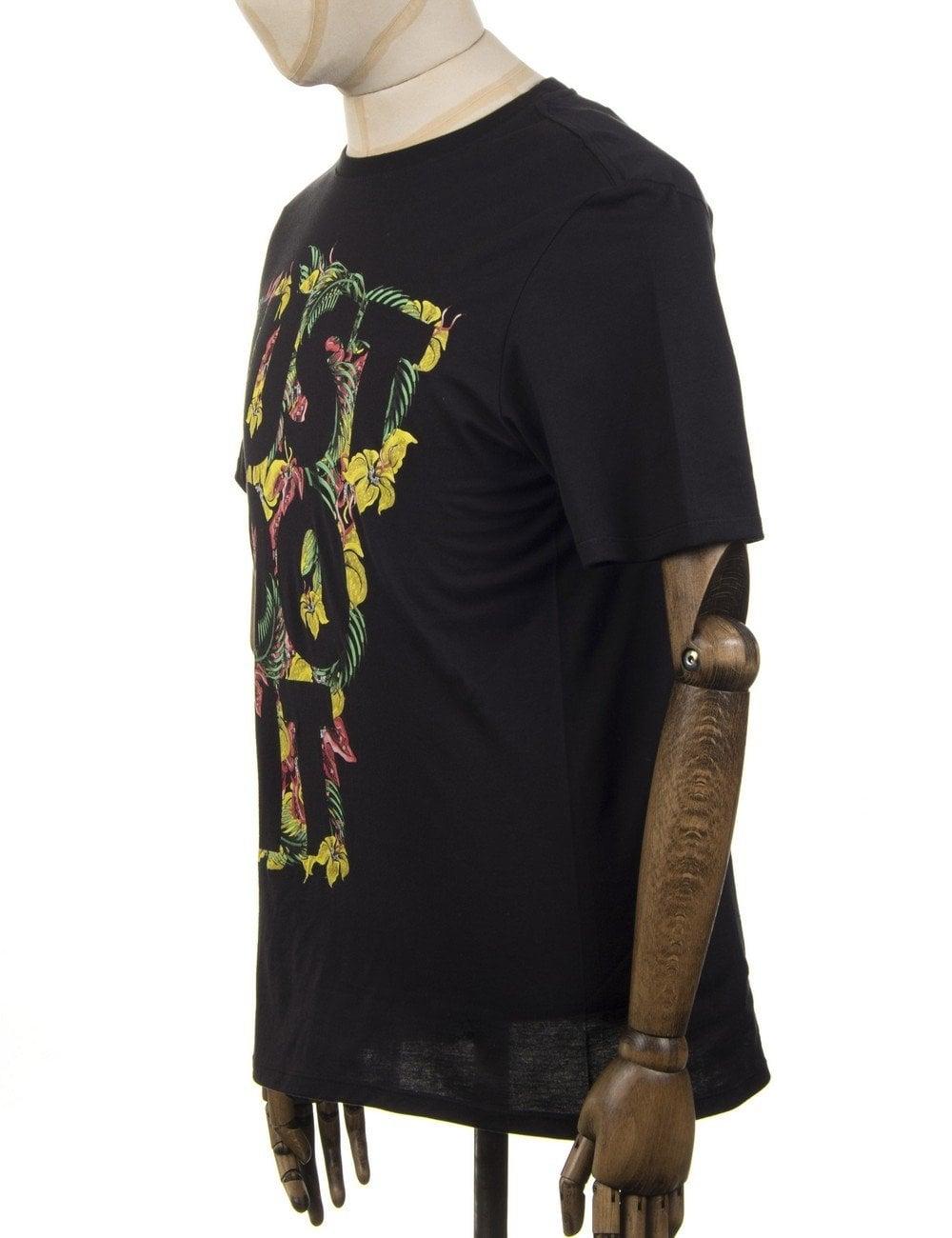 82840d49 Nike Floral JDI T-shirt - Black - Clothing from Fat Buddha Store UK
