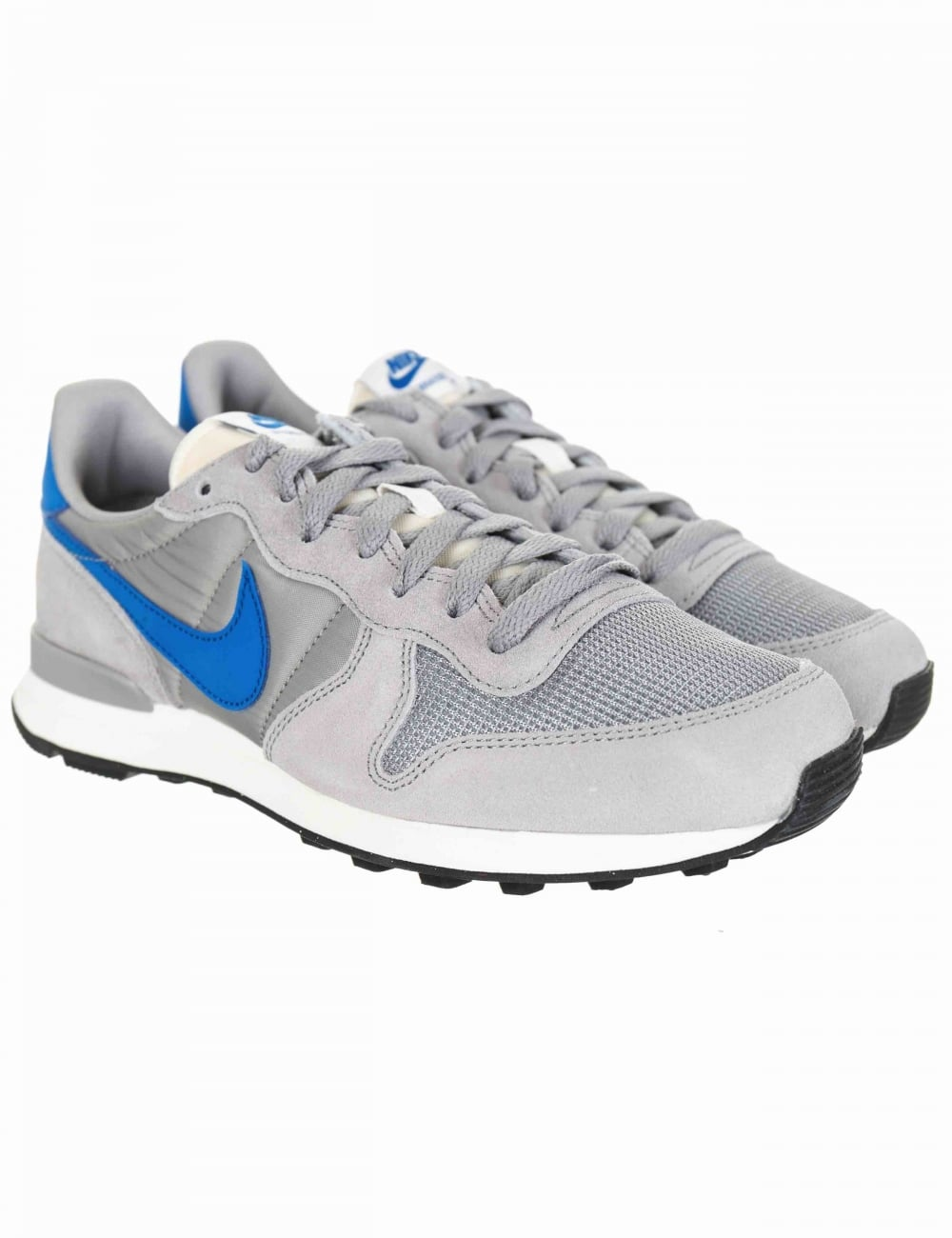 pretty nice e4e1c 2acff Internationalist Shoes - Matte Silver Blue Spark