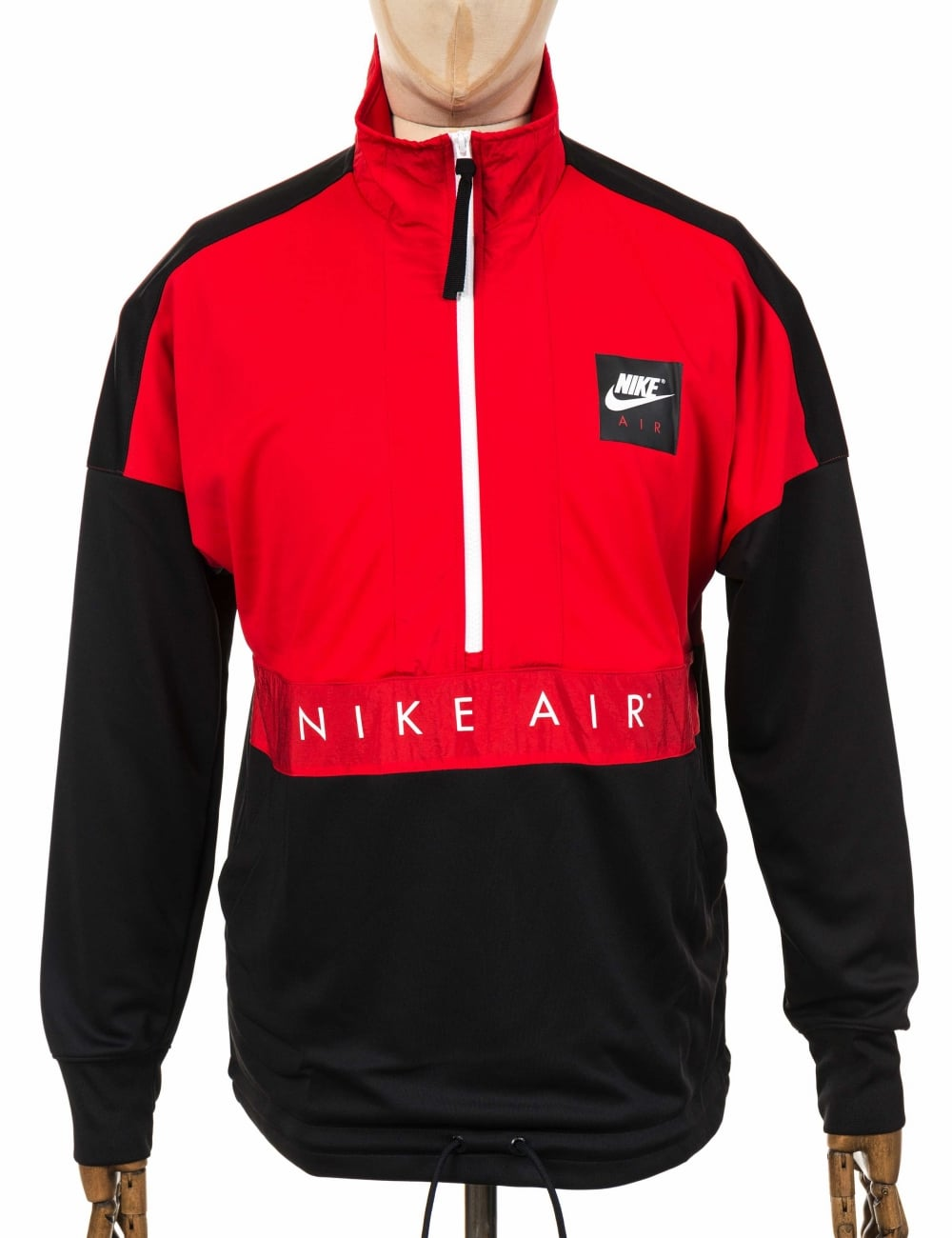 1629d7c06 Nike L/S Half Zip Top - University Red/Black - Clothing from Fat ...