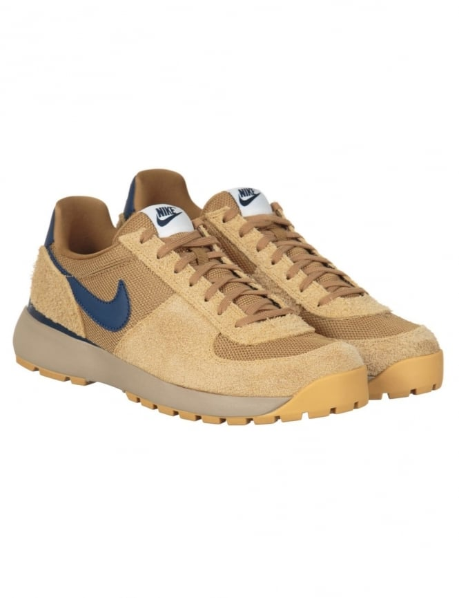 Nike Lavadome Shoes - Metallic Gold/Midnight Navy