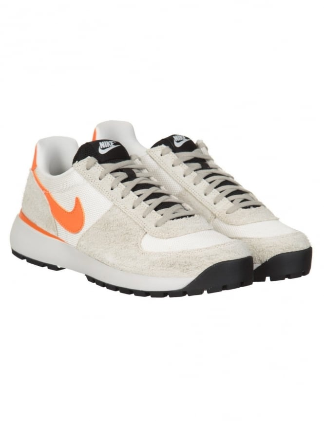 Nike Lavadome Shoes - Stone Grey/Soft Orange
