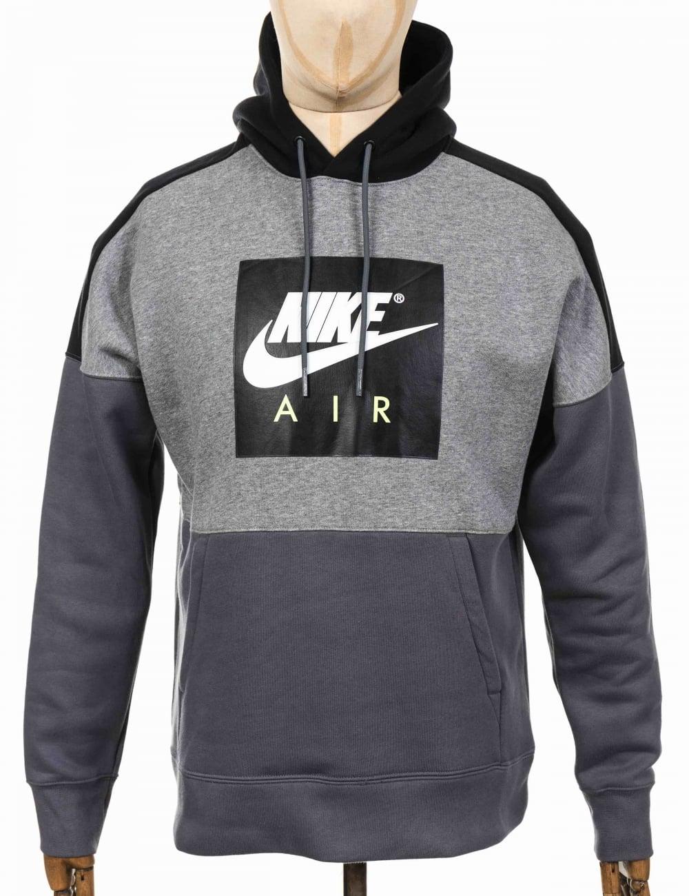 Nike NSW Air Hooded Sweatshirt - Carbon