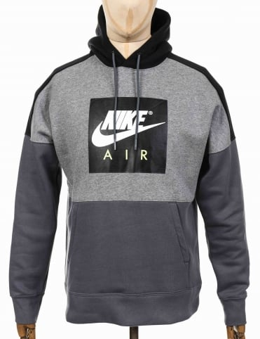 NSW Air Hooded Sweatshirt - Carbon Heather/Black