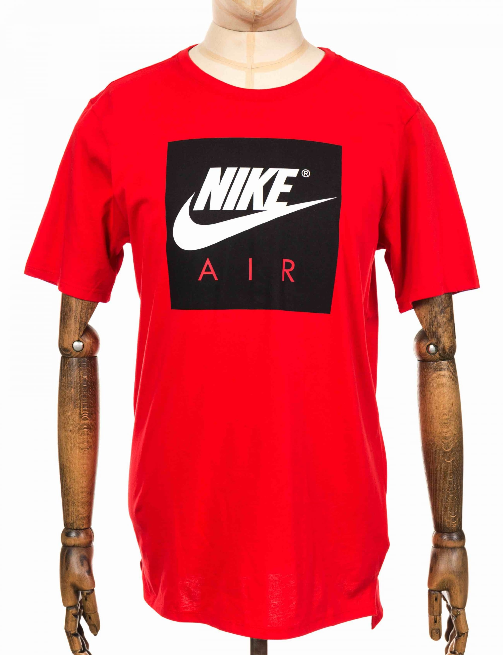 differently pretty cool great fit Nike NSW Air Sport Tee - University Red/White - Clothing from Fat ...