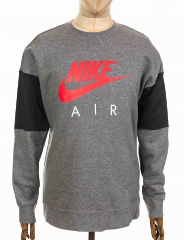 NSW Air Sweatshirt - Carbon Heather/Anthracite