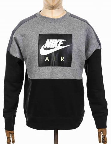 NSW Air Sweatshirt - Carbon Heather/Black