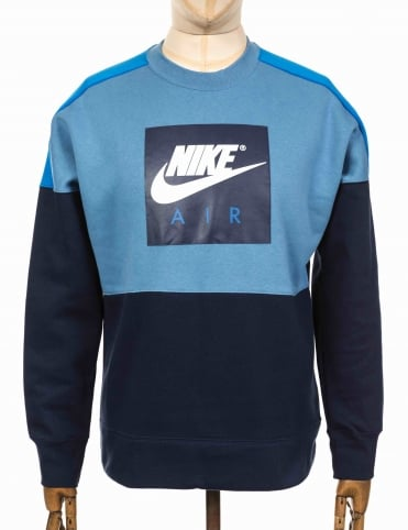 NSW Air Sweatshirt - Storm Blue/Blue Nebula