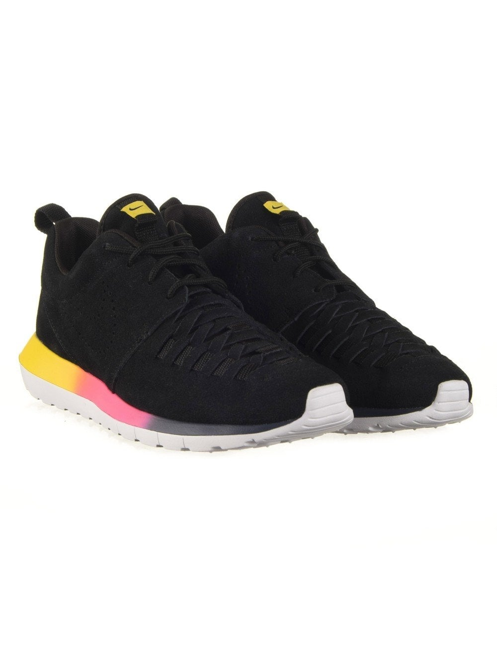 3b2ab63e484b8 Nike Roshe Run NM Woven SD - Black Tour Yellow - Footwear from Fat ...