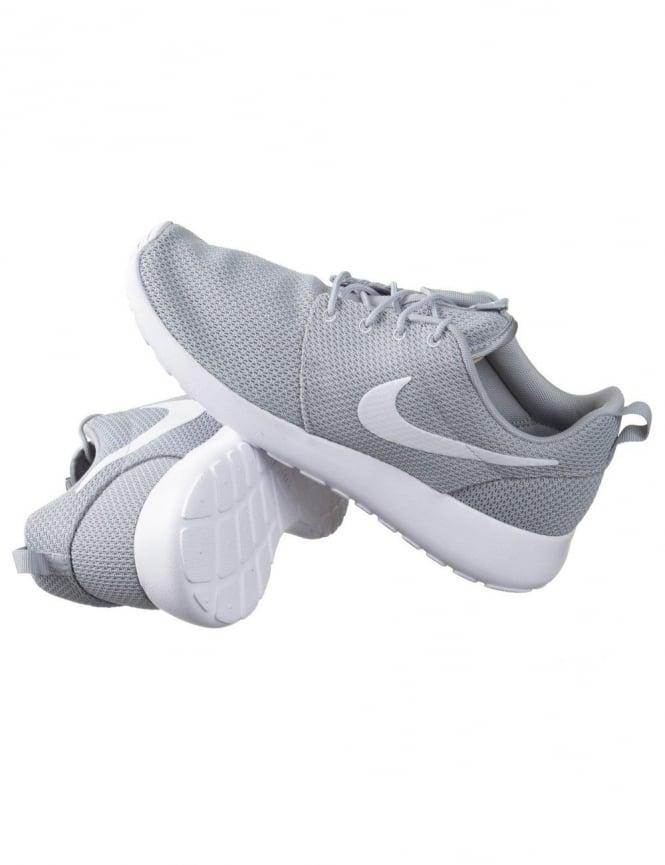 1d48b1a903e8 Nike Roshe Run Shoes - Wolf Grey White - Footwear from Fat Buddha ...