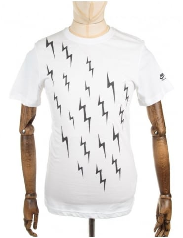 Nike Run Bolts Tee - White