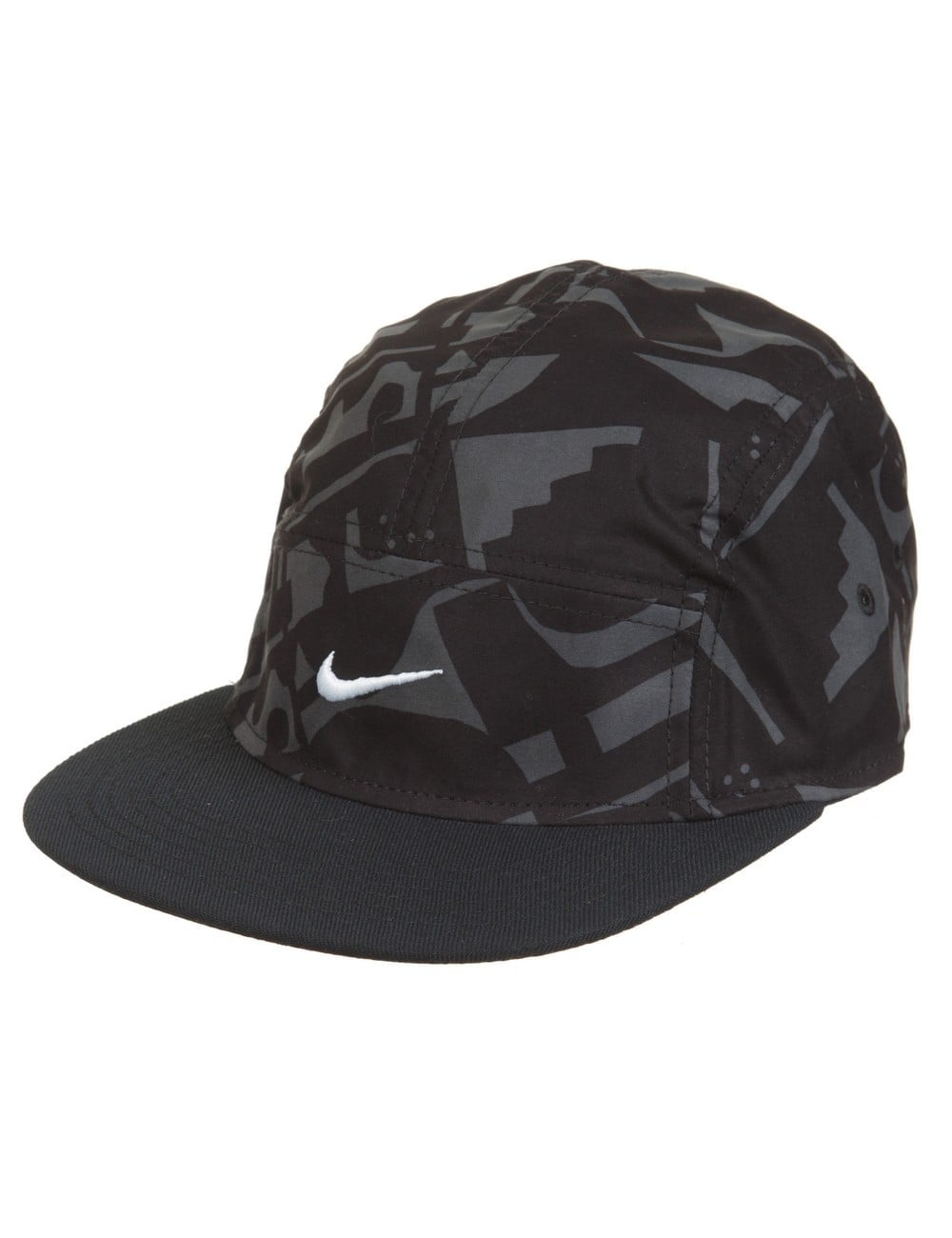 Nike SB Artist 5 Panel Hat - Black - Accessories from Fat Buddha ... 43033b2eada
