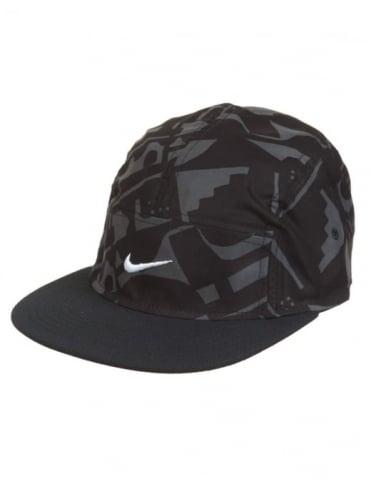 Nike SB Artist 5 Panel Hat - Black