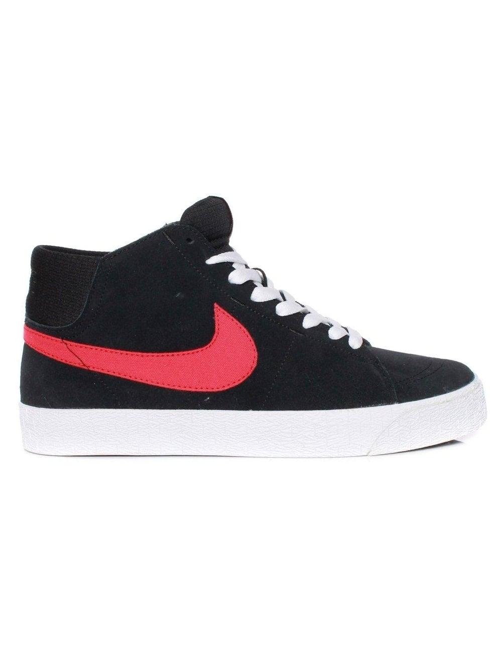 Nike Blazer Mid Lr - Magasin En Noir Et Blanc