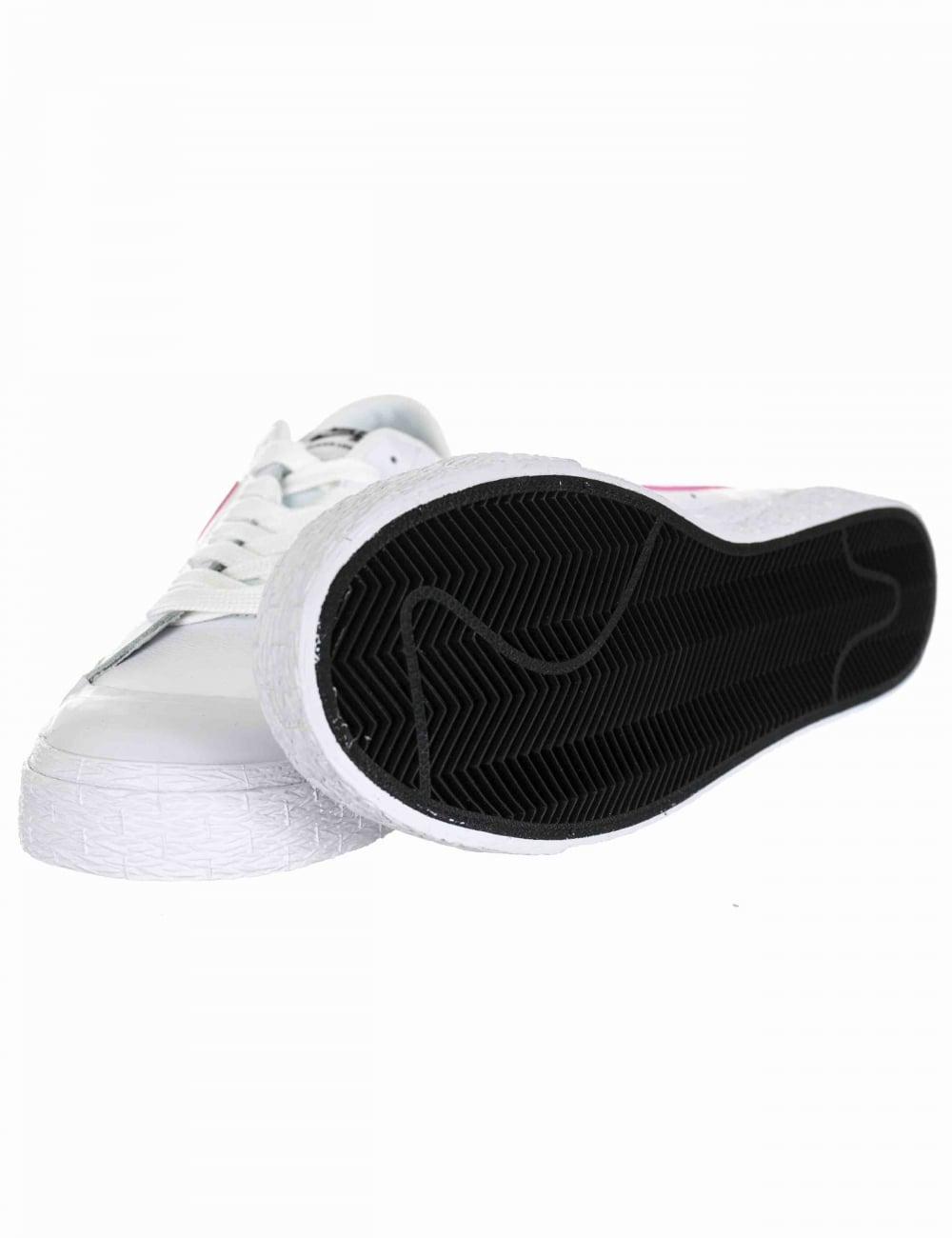 new style 8dd5c cc2a2 Blazer Zoom Low GT Shoes - White/Prism Pink