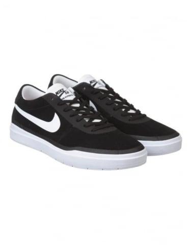 Nike SB Bruin Hyperfeel Shoes - Black/White