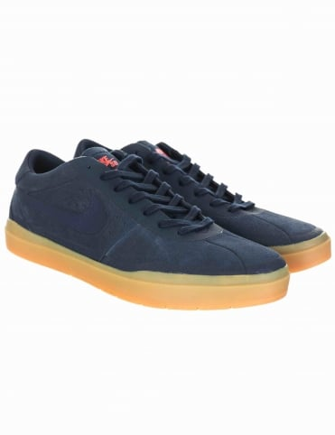 Nike SB Bruin Hyperfeel Shoes - Obsidian/Gum Light