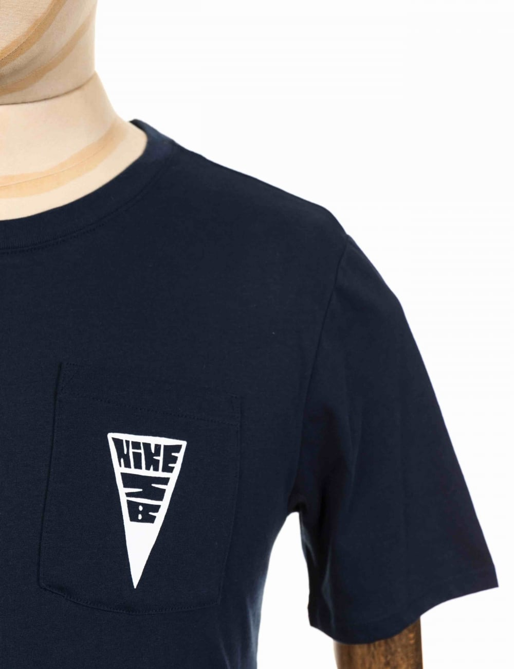 Dry Fit Triangle Pocket Logo Tee Obsidian