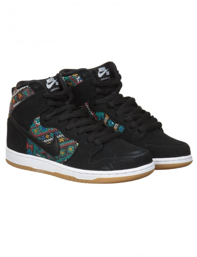 Nike SB Dunk Hi Express Shoes - Black (Car Seat Pack)